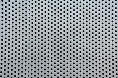 Textura plateada de metal para el fondo Imagen de archivo