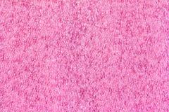 Textura plástica cor-de-rosa macia para o fundo Fotografia de Stock Royalty Free