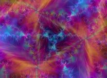 Textura plumosa Wispy del fuego ilustración del vector