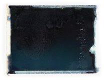 Textura polaroid de la transferencia Fotos de archivo libres de regalías