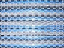 Textura poligonal de acero para el fondo fotografía de archivo