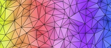 Textura polivinílica baja colorida Fotos de archivo