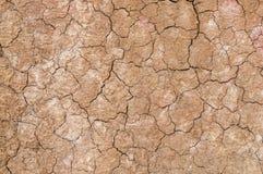 Textura por um solo seco Fotografia de Stock