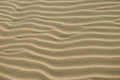 Textura próxima acima da areia 2 Fotos de Stock