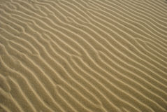 Textura próxima acima da areia 3 Foto de Stock Royalty Free