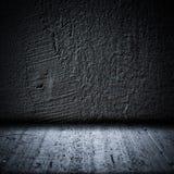 Textura preta da parede e do assoalho do fundo ilustração royalty free