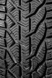 Textura preta da superfície do pneu de carro nas boas condições imagem de stock royalty free