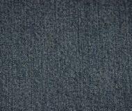 Textura preta das calças de brim Fotos de Stock Royalty Free