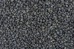 Textura preta das pedras Foto de Stock Royalty Free
