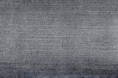 Textura preta de brim Imagens de Stock