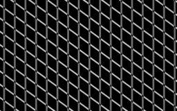 Textura preta sem emenda da grade ilustração do vetor