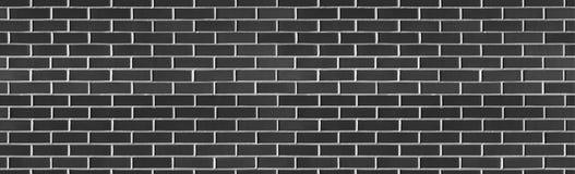 Textura preta sem emenda da parede de tijolo da lavagem do vintage para o projeto Fundo para sua texto ou imagem imagens de stock