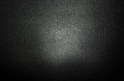 A textura preta simples da tela com fundo da luz do inclinação usa-nos uma textura escura sutil e original para seu projeto Imagens de Stock