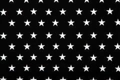 Textura preto e branco com estrelas Imagens de Stock