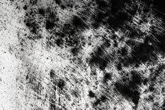 Textura preto e branco da aflição do Grunge Risco e textura ou Imagens de Stock Royalty Free