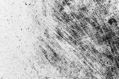 Textura preto e branco da aflição do Grunge Textura do risco sujeira Foto de Stock