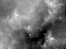 Textura preto e branco da arte finala do fractal do espaço profundo Imagem de Stock