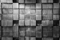 Textura preto e branco das pranchas de madeira Fotografia de Stock