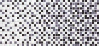 Textura preto e branco das telhas, sem emenda imagem de stock royalty free