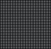 Textura preto e branco de círculos pequenos ilustração do vetor