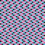 Textura preto e branco de círculos pequenos ilustração stock