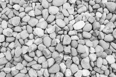 Textura preto e branco do fundo da parede de pedra Fotografia de Stock Royalty Free