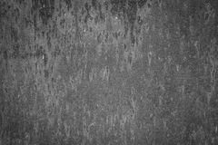 Textura preto e branco do metal oxidado Foto de Stock Royalty Free