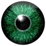 Textura profunda atractiva aguda 3D 3 del ojo Foto de archivo