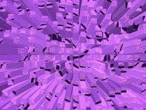 Textura púrpura abstracta Imagen de archivo