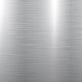 Textura pulida del metal Fotografía de archivo