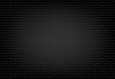Textura punteada en fondo negro Foto de archivo libre de regalías