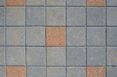 Textura quadrada da pedra de pavimentação Fotos de Stock