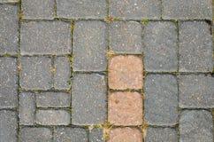 Textura quadrada da pedra de pavimentação Imagem de Stock Royalty Free