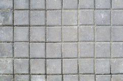 Textura quadrada da pedra de pavimentação Fotografia de Stock Royalty Free