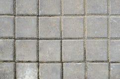 Textura quadrada da pedra de pavimentação Foto de Stock