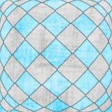 Textura quadriculado 3d Fotografia de Stock Royalty Free