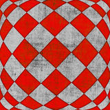 Textura quadriculado 3d Foto de Stock Royalty Free