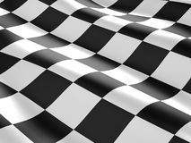 Textura quadriculado da bandeira. Fotografia de Stock