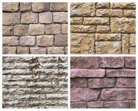 Textura quatro de pedra Fotografia de Stock Royalty Free