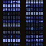 Textura que se asemeja a ventanas de SK imágenes de archivo libres de regalías