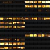 Textura que se asemeja a ventanas del rascacielos foto de archivo
