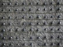 Textura rústica do metal fotografia de stock
