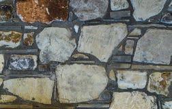 Textura rústica ou fundo da parede de pedra da rocha do shell Imagens de Stock