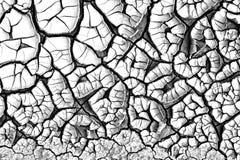 Textura rachada abstrata Foto de Stock Royalty Free