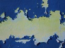 Textura rachada do fundo da pintura Fotografia de Stock Royalty Free