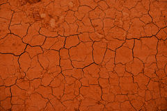Textura rachada seca da terra Imagens de Stock