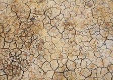 Textura rachada seca da terra ou da sujeira foto de stock