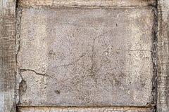 Textura rachada velha da parede Foto de Stock