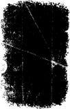 Textura rasguñada del grunge del vector Imágenes de archivo libres de regalías