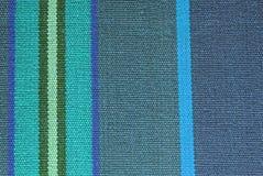 Textura rayada de la tela Foto de archivo